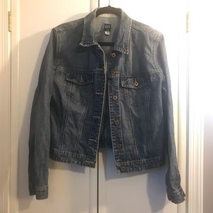 GAP Mid-wash Denim Jacket